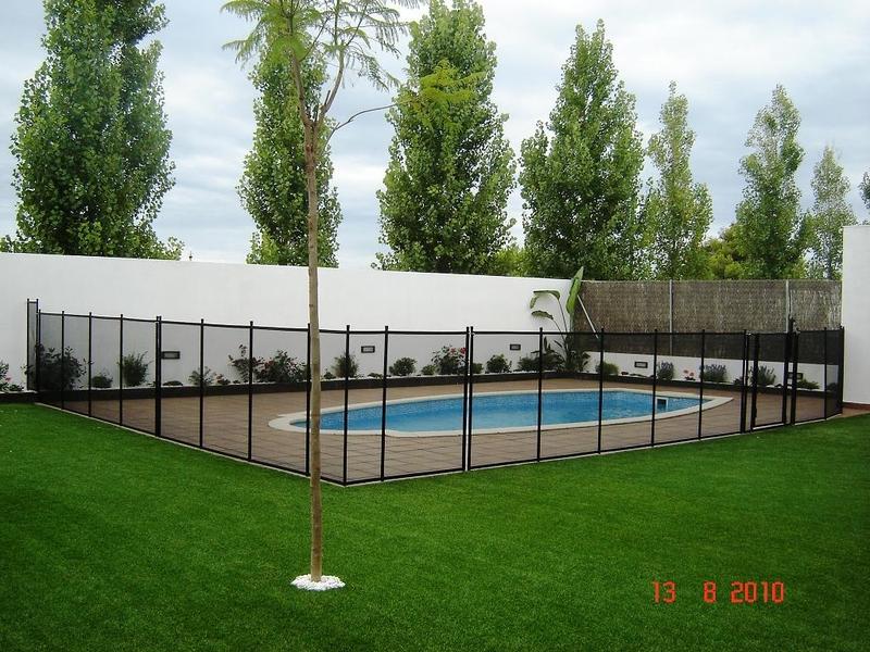 Valla de seguridad para piscina aqua systems egara - Valla seguridad piscina ...